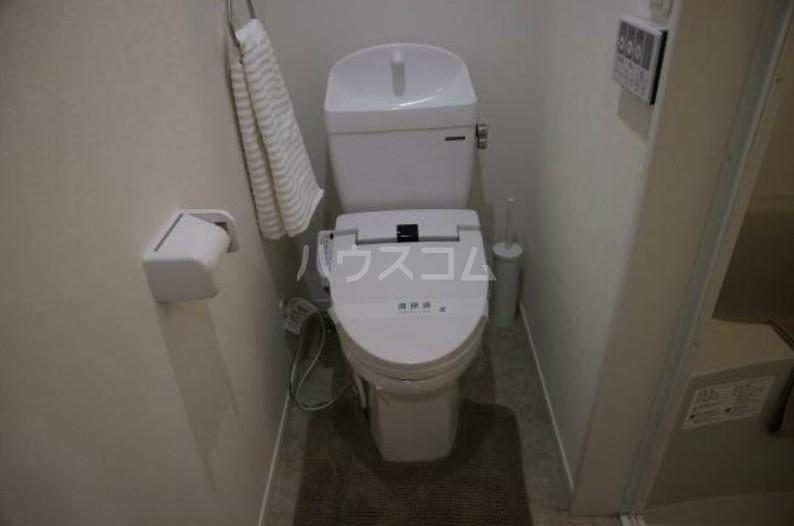 シャンティヒル白楽のトイレ