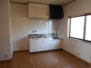 コーポ愛B 203号室のキッチン
