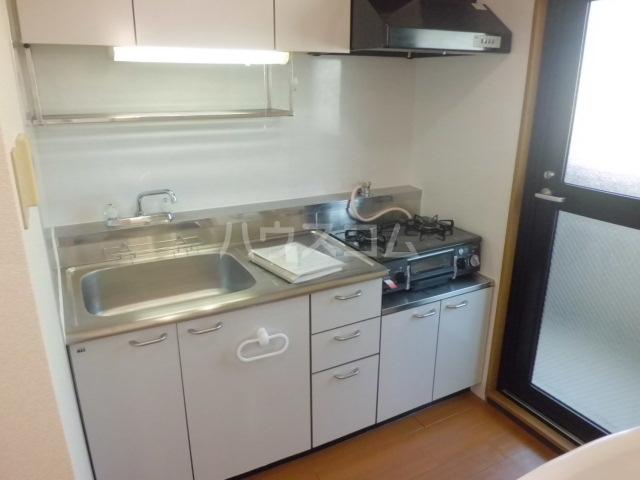 クレセント松蔭 403号室のキッチン