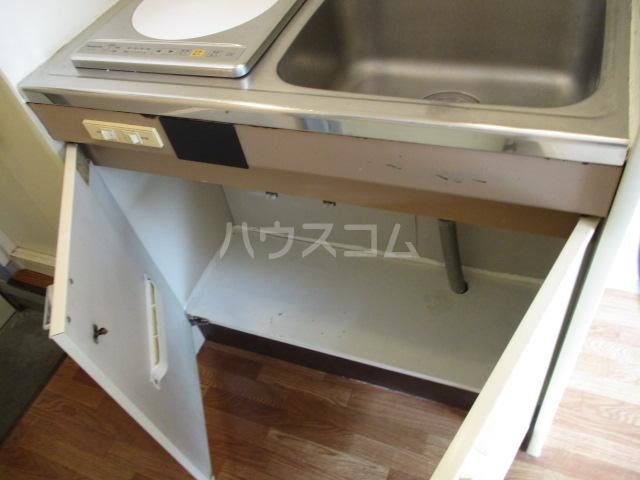 ホワイトヴィラ 202号室のキッチン