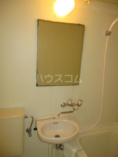 ホワイトヴィラ 202号室の洗面所