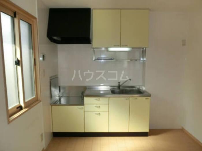 アムール・ソフィアⅠ 201号室のキッチン