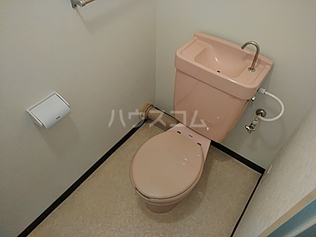 第2みなせハイツ 303号室のトイレ