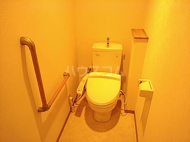 ヘルシーハイツⅡ 102号室のトイレ