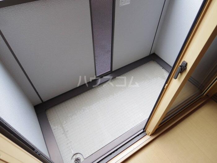 マロンハイム A 102号室のバルコニー