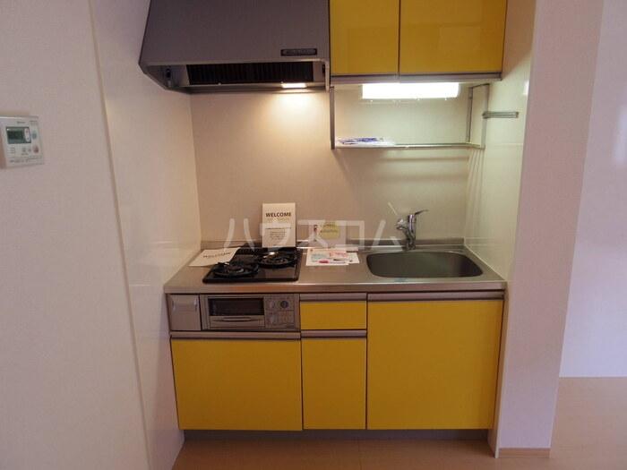 マロンハイム A 102号室のキッチン
