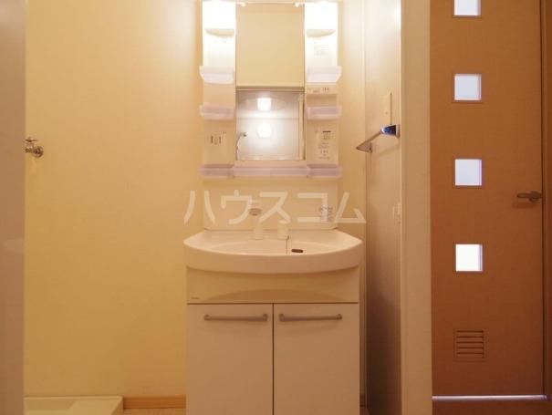 セジュールT 305号室の洗面所