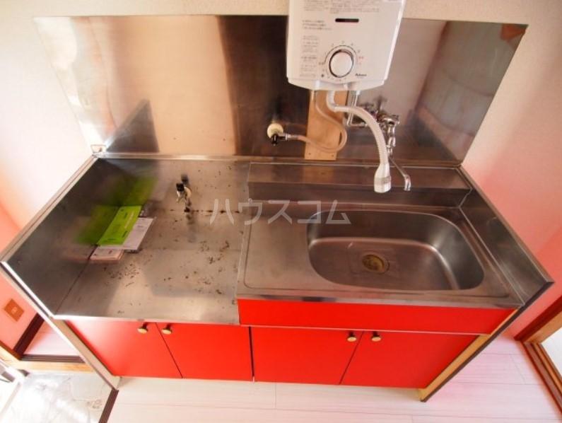 ベイルーム下倉田 2C号室のキッチン
