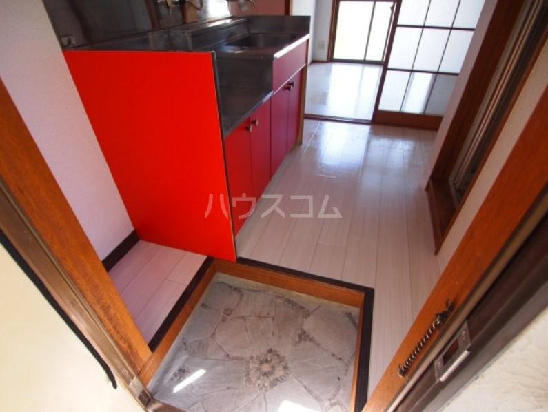 ベイルーム下倉田 2C号室の玄関
