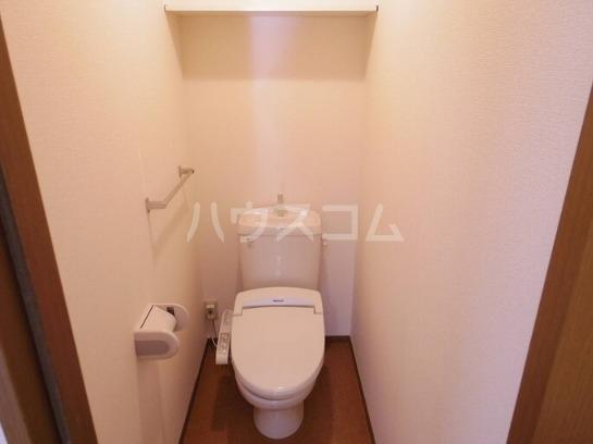 サニーホームズ C 202号室のトイレ