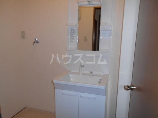 サニーホームズ C 202号室の洗面所