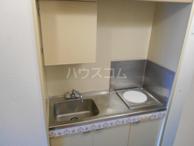 ガーデンヒルズ横浜 107号室のキッチン