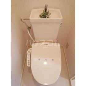 グローバル 202号室のトイレ