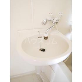 グローバル 202号室の洗面所