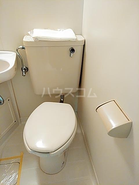 コナビック西塚 Ⅱ 1C号室のトイレ