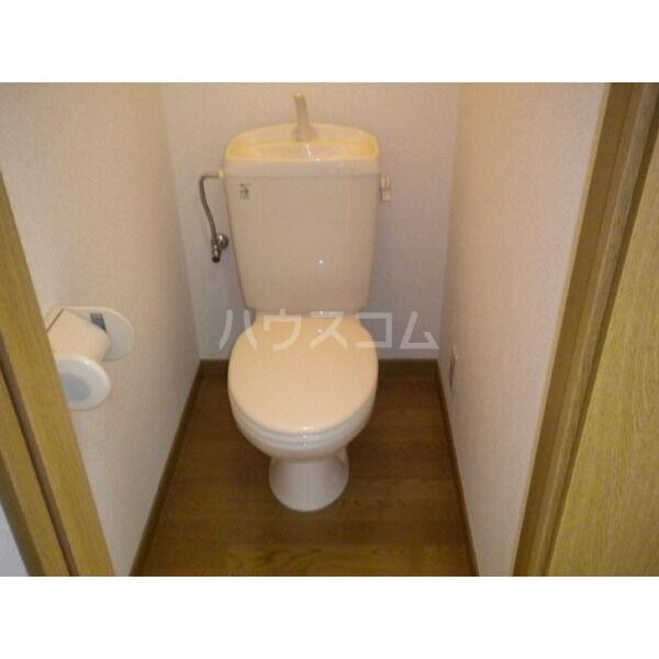 アムール英 204号室のトイレ