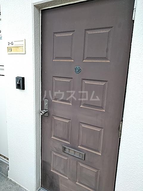 コナビック西塚 Ⅱ 2G号室の玄関