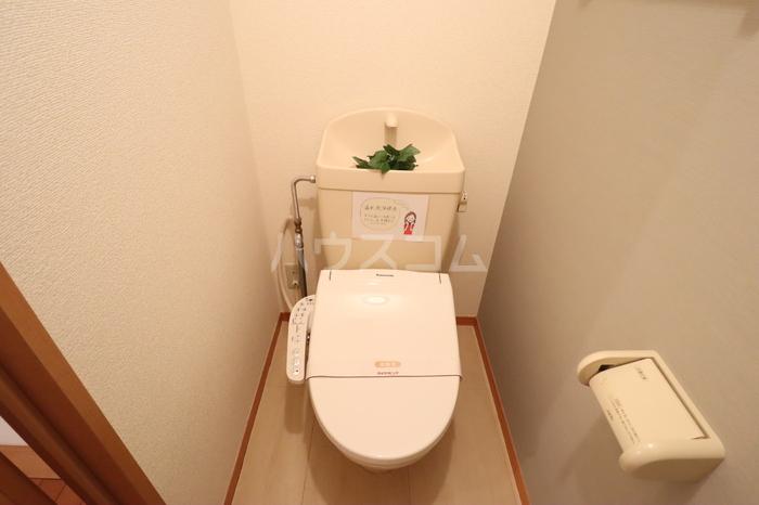 アークグレイスⅡA 201号室のトイレ