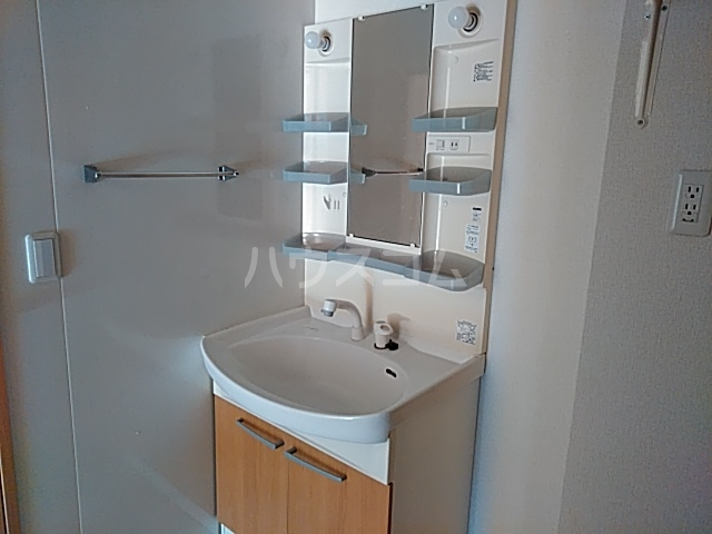 T-RoomⅡの洗面所