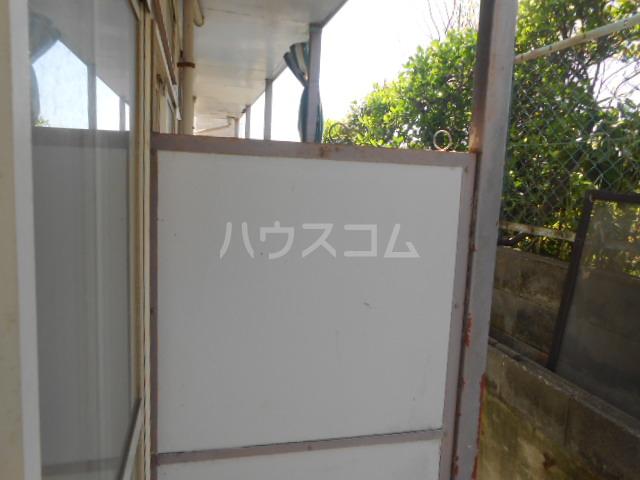 メゾン・アイリスⅡ 110号室のバルコニー