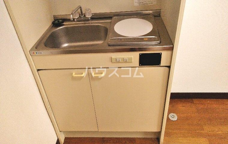 ハイツ柳 201号室のキッチン