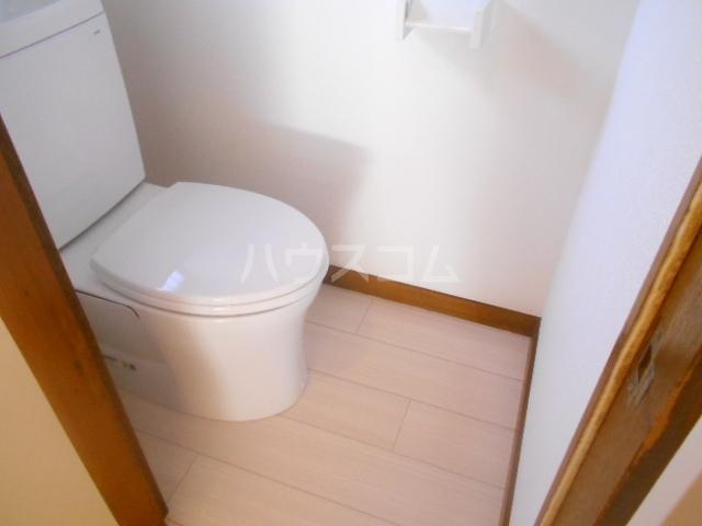 テラスハウス小川のトイレ