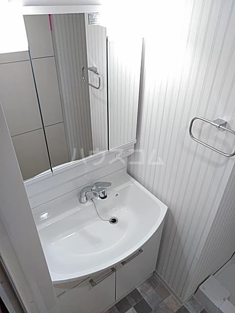 ムーンリバー大橋 403号室の洗面所