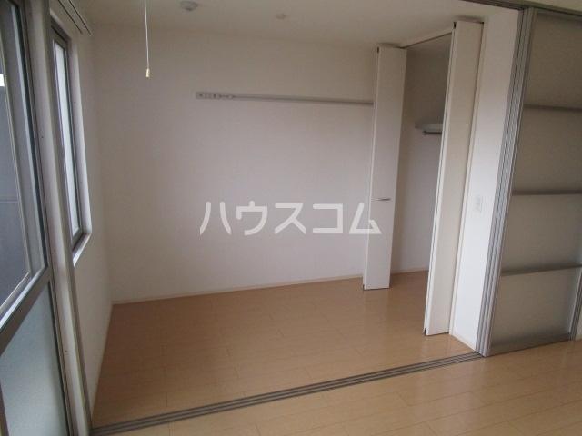 プロムナードⅠ 205号室のベッドルーム