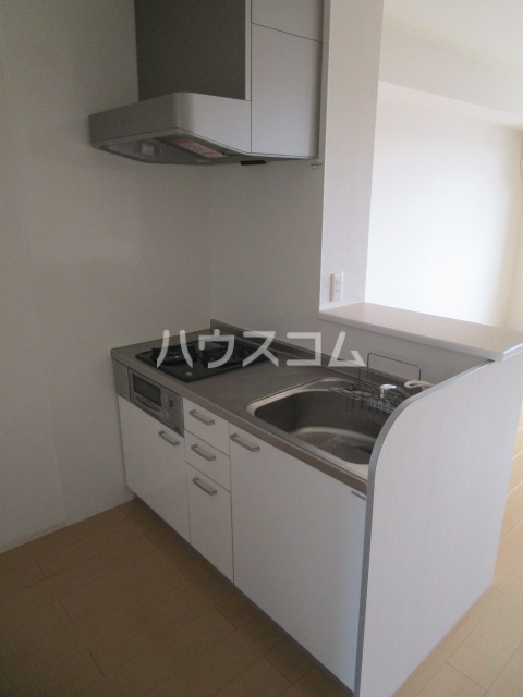 プロムナードⅠ 205号室のキッチン