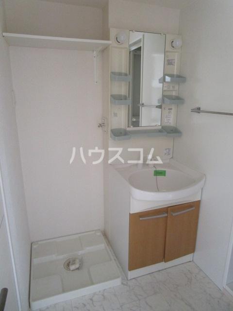 プロムナードⅠ 205号室の洗面所