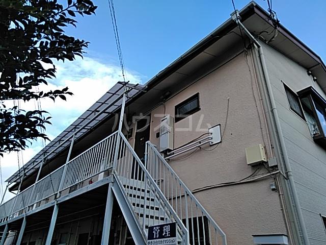 妙香寺台スカイマンションの外観