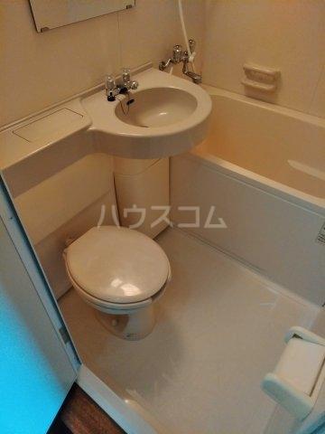 REO'S国場 2-D号室のトイレ