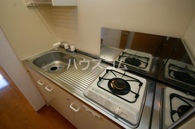 シャトー'01 601号室のキッチン