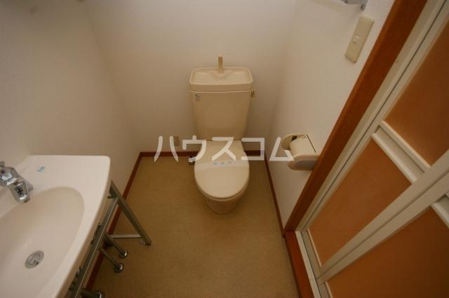 シャトー'01 601号室のトイレ
