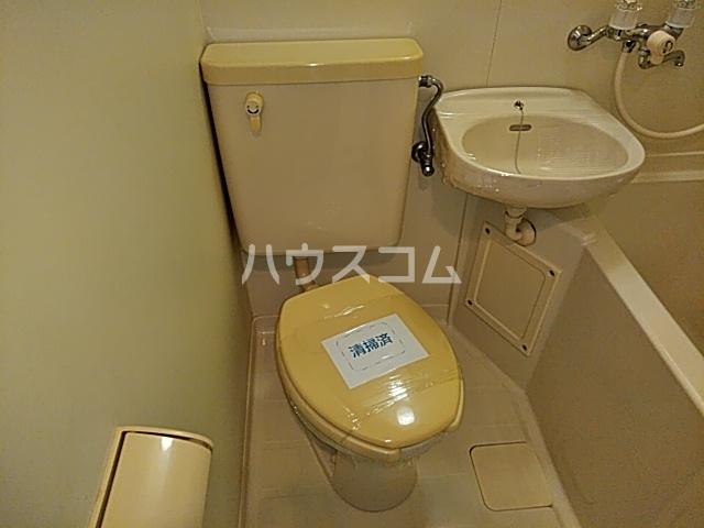 ハイツ沢良木のトイレ