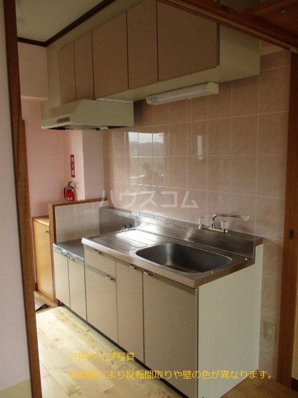 龍ハイツ 206号室のキッチン