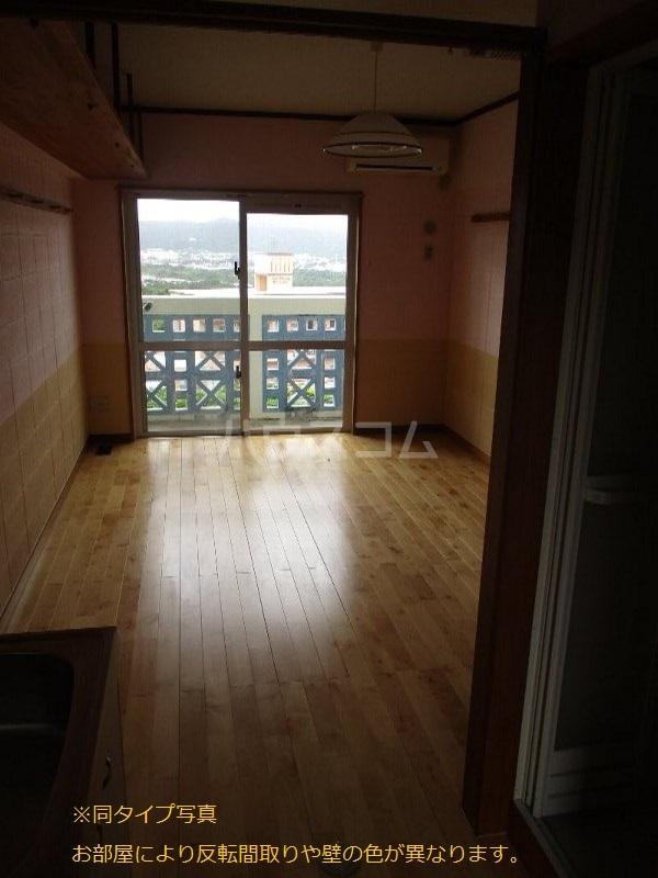 龍ハイツ 206号室のバルコニー
