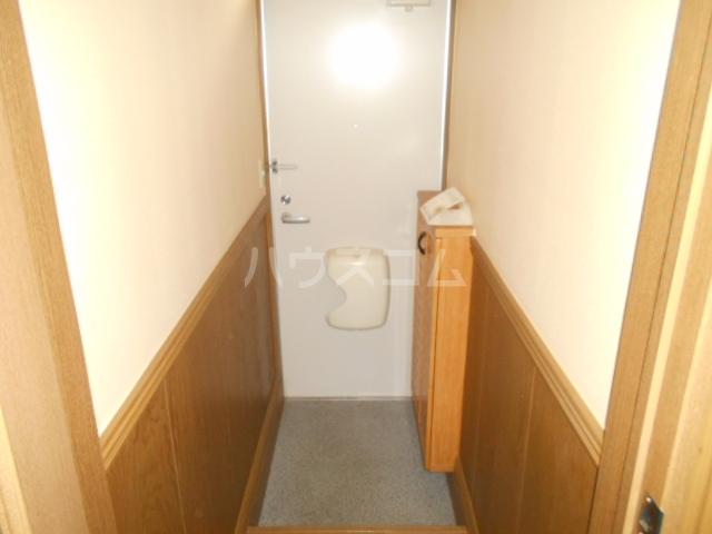 エールハウス 103号室の玄関