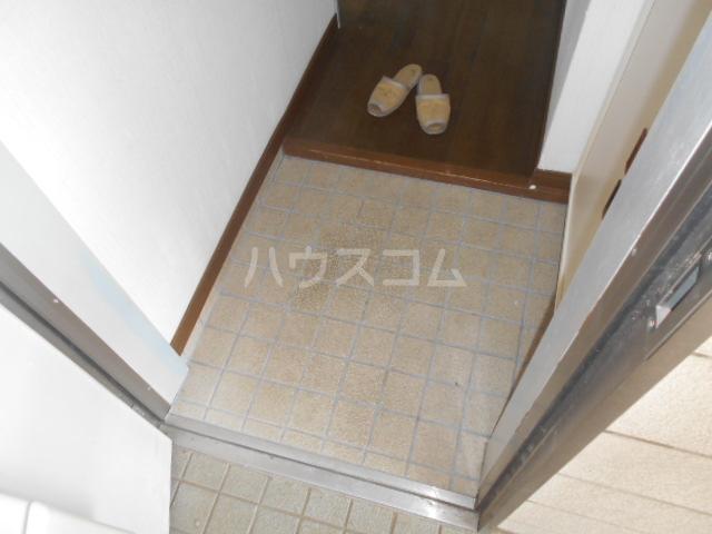 木村ハイツA 202号室の玄関