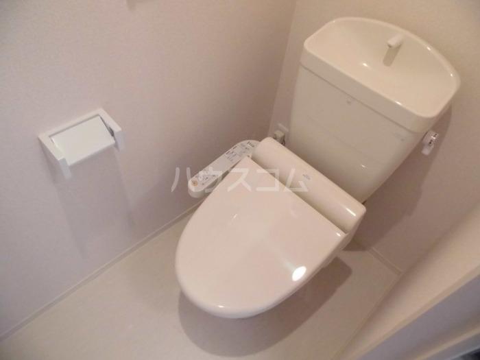 ロイヤル ブルー オーシャンA 206号室のトイレ