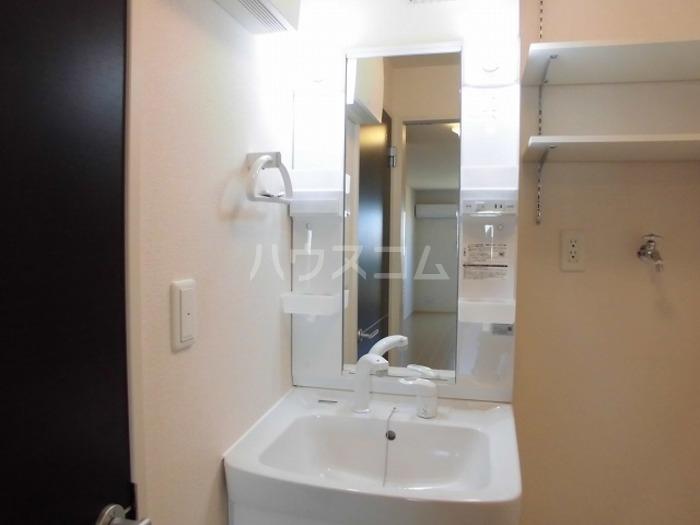 ロイヤル ブルー オーシャンA 206号室の洗面所
