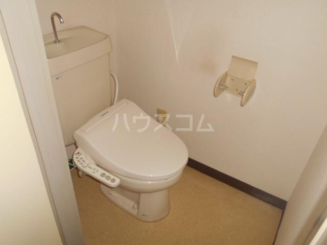ダイヤパレス 116号室のトイレ