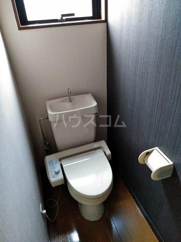 ジーズ プレイス 203号室のトイレ