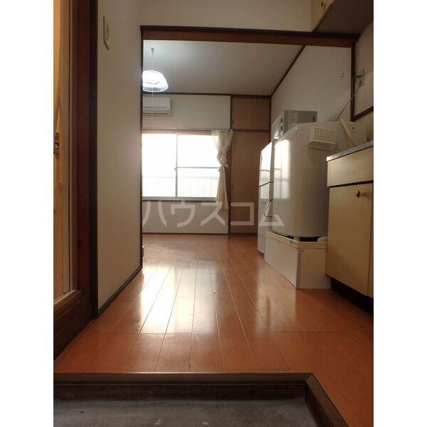 メゾン三宅 202号室の玄関