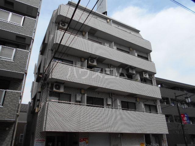 東菱八幡町マンションの外観