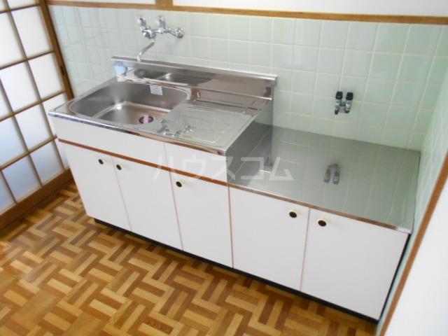 ユニメント祖原 103号室のキッチン