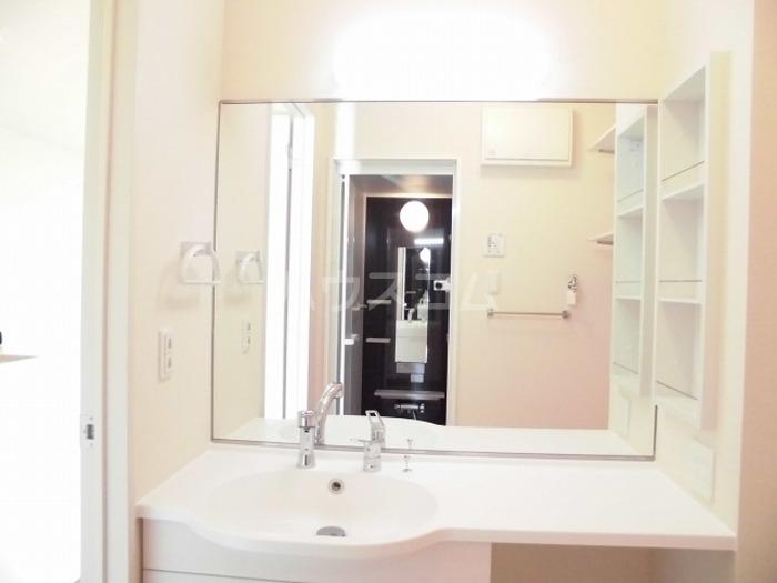 パークドオートム D 105号室の洗面所