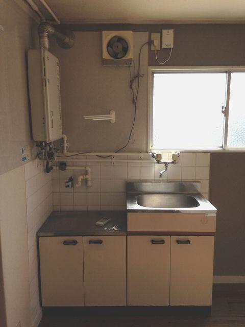 ベイサイド花みずき 602号室のキッチン