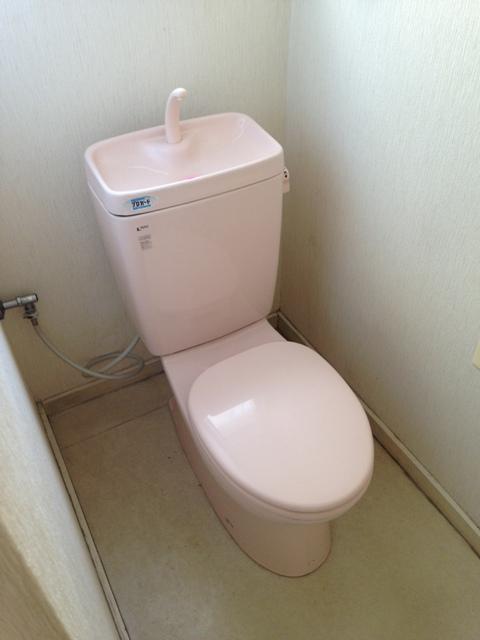 ベイサイド花みずき 602号室のトイレ