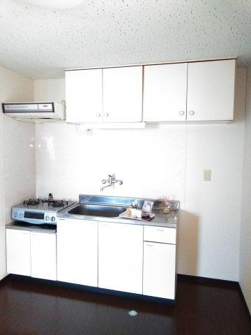 サニーヒルマンション 404号室のキッチン